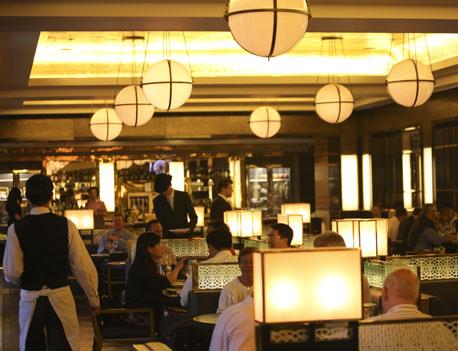 restaurant review St Pancras Grand Restaurant room