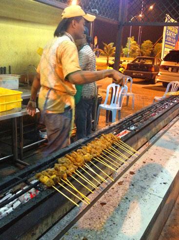 Kuala Lumpur satay