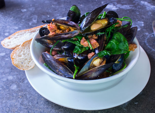 Olive Tree mussels
