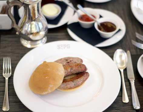 St Pancras Grand sausage