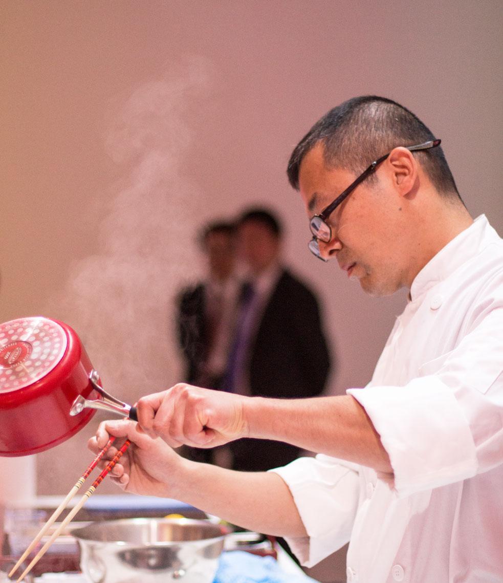 Turning Japanese chef