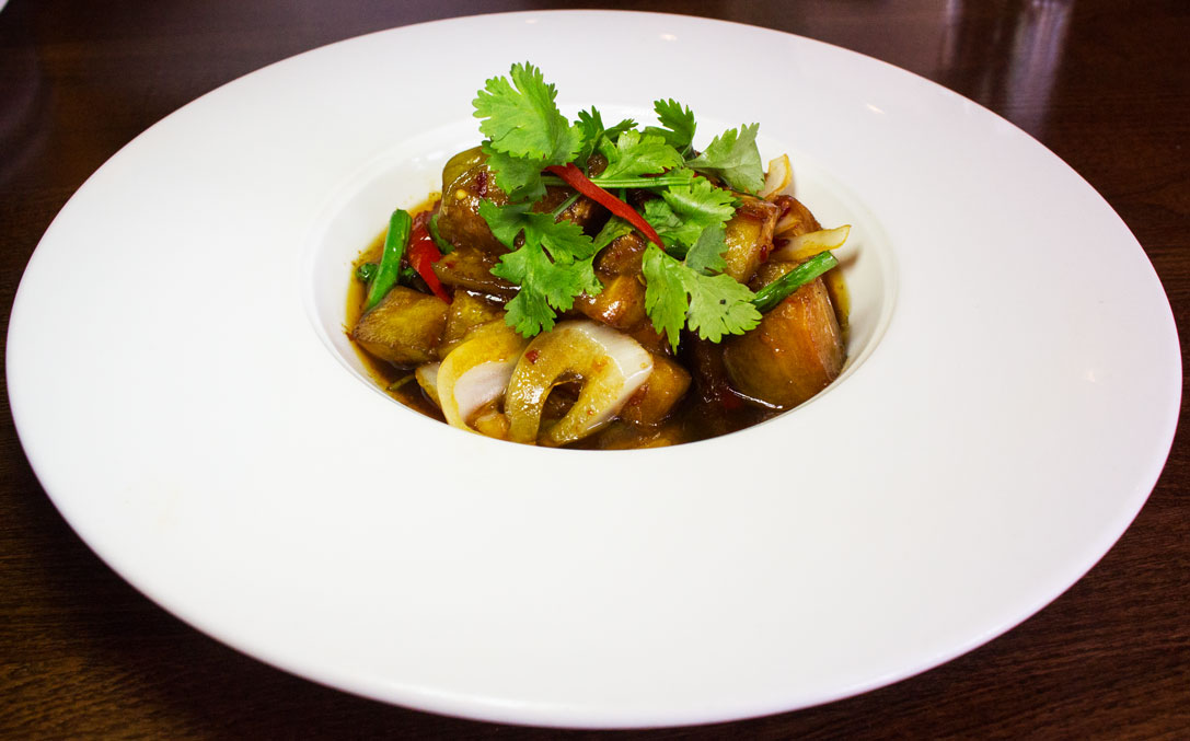 Thai Square aubergine