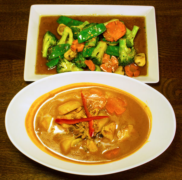 Thai Square massaman curry