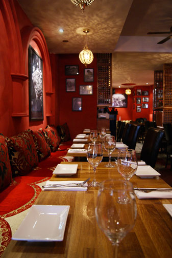 Maison Touareg tables