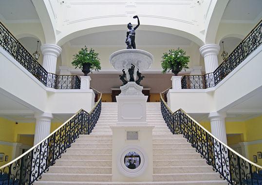 the yeatman hotel stairs