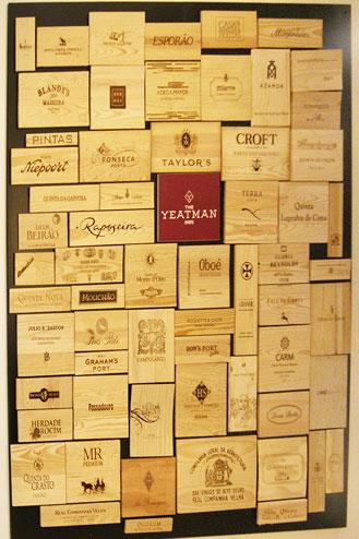 Yeatman hotel cellar
