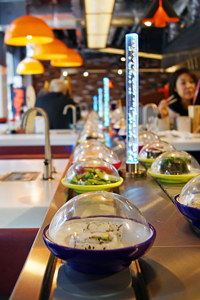 YO! Sushi, Waterloo Station, London – restaurant review