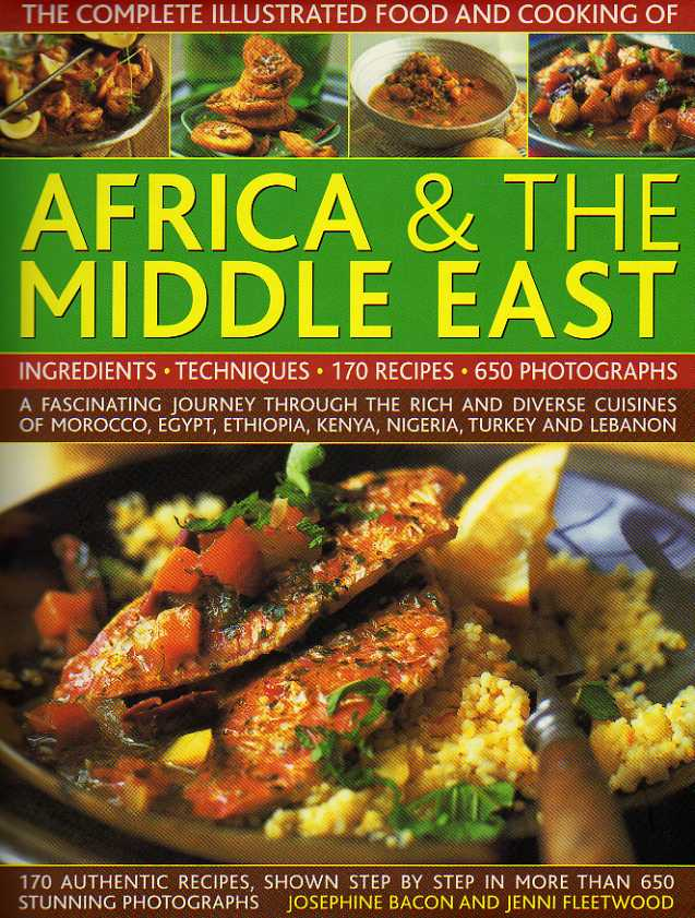 cookbook review Cooking of Africa and the Middle East