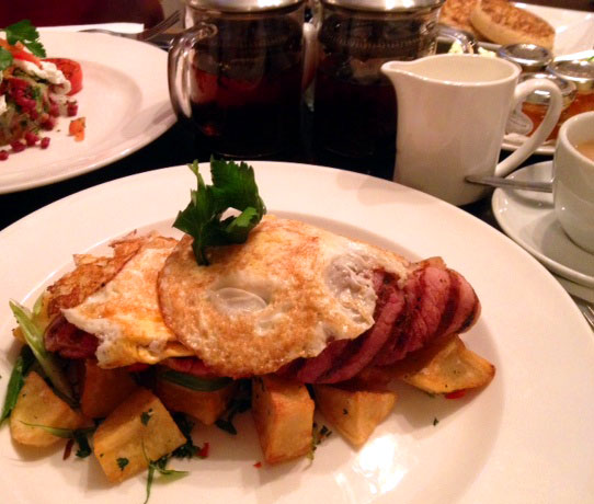 Balans ham and eggs