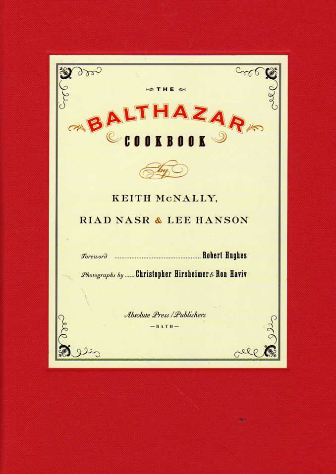 cookbook review The Balthazar Cookbook