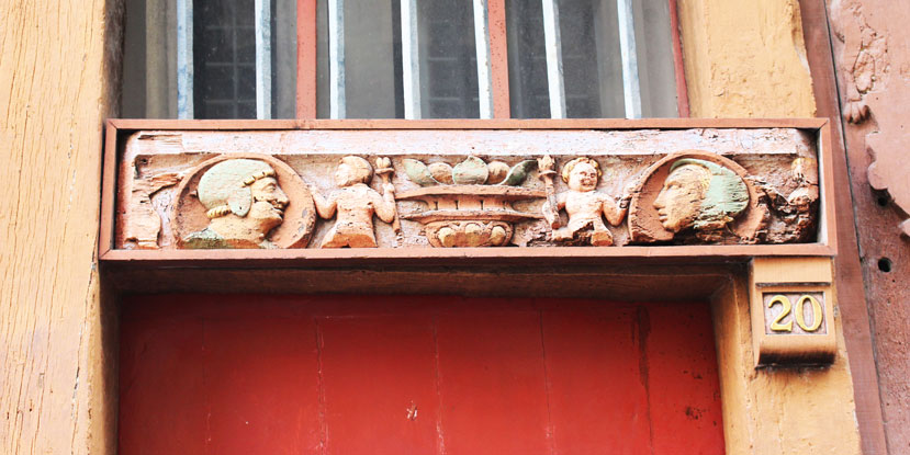 Rennes carving