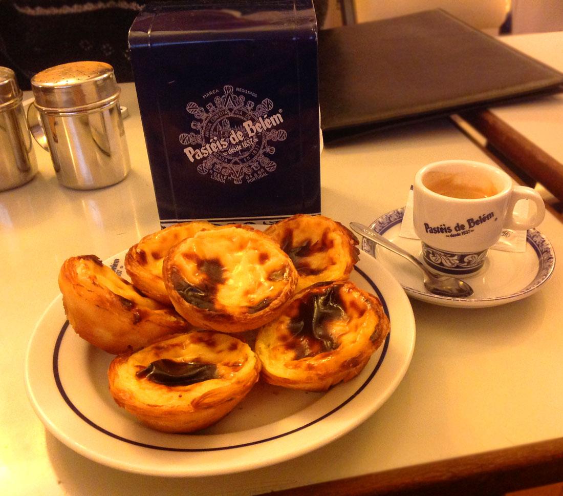 Portugal custard tarts
