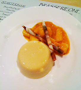 restaurant review brasserie one mango