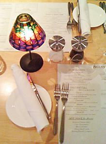 restaurant review brassserie one table