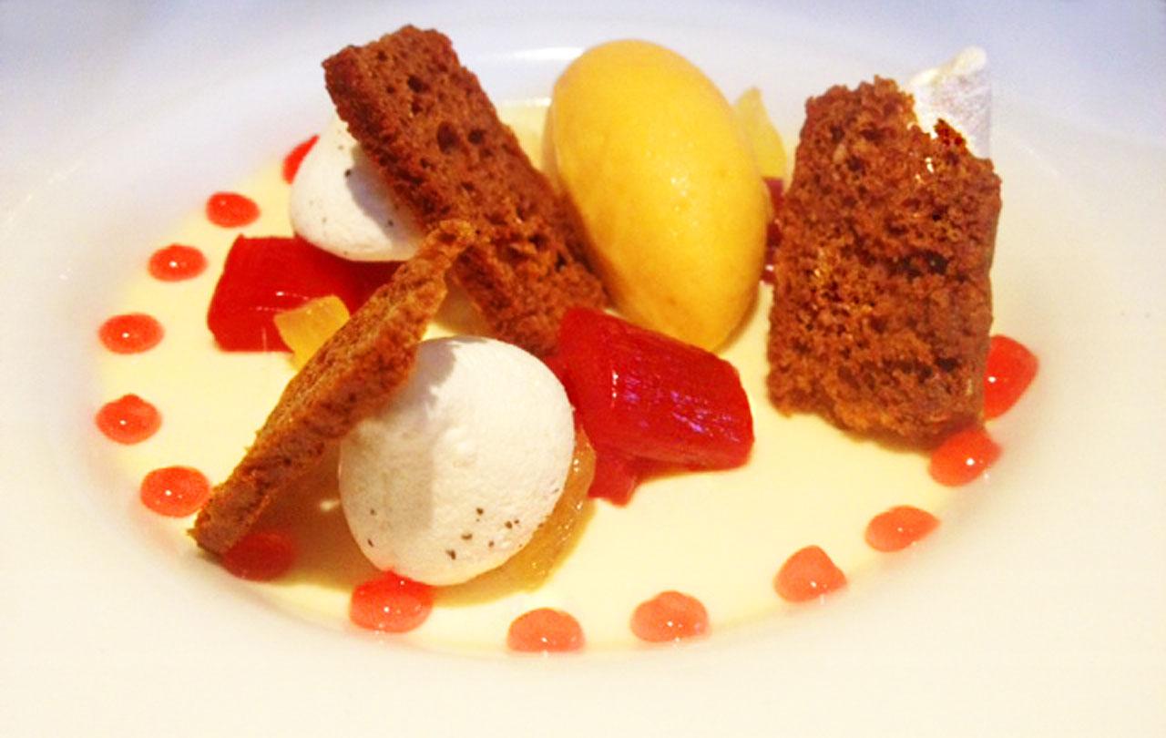 Caxton Grill dessert
