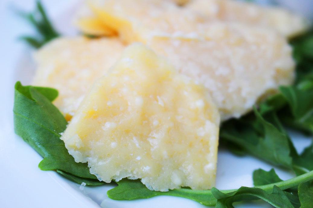 Parmigiano Reggiano cut