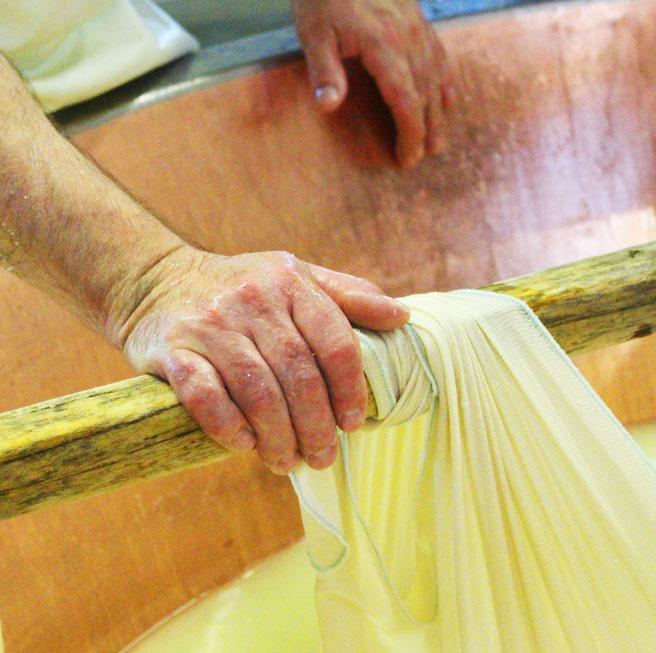 Parmigiano Reggiano maker