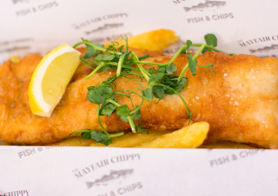 The Mayfair Chippy fish