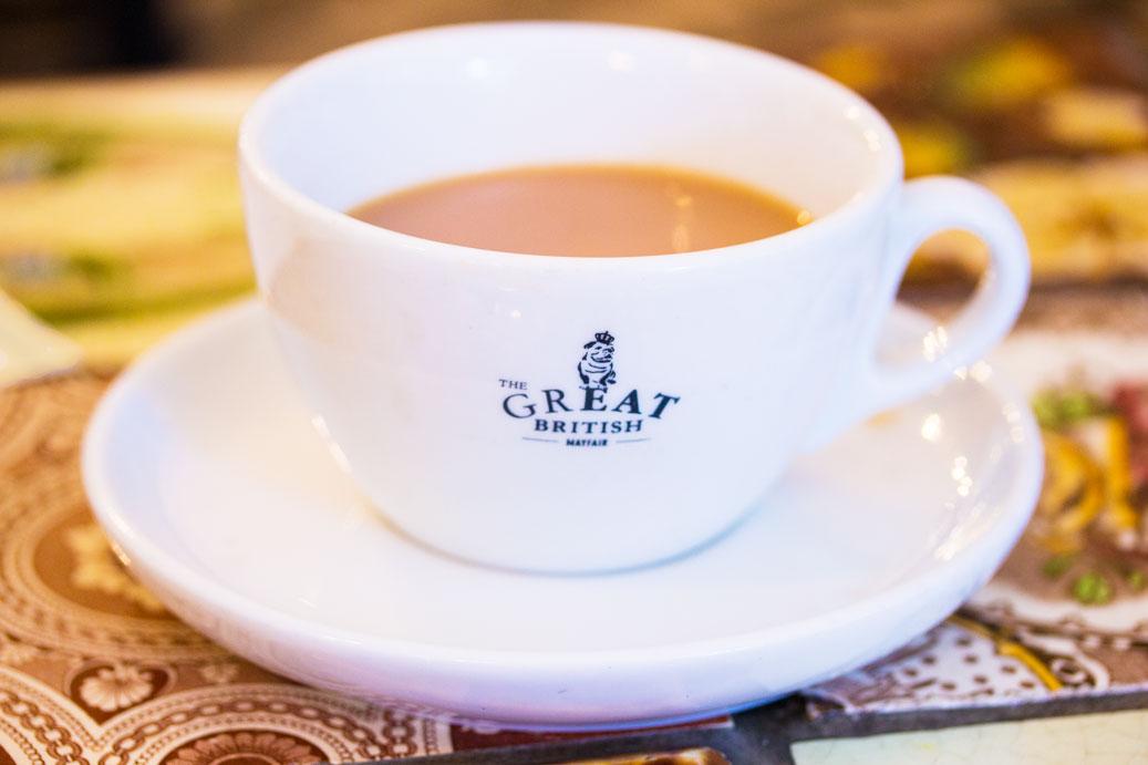 The Mayfair Chippy tea