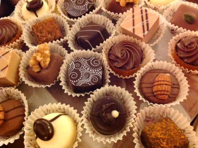 Perugia Italy chocolates