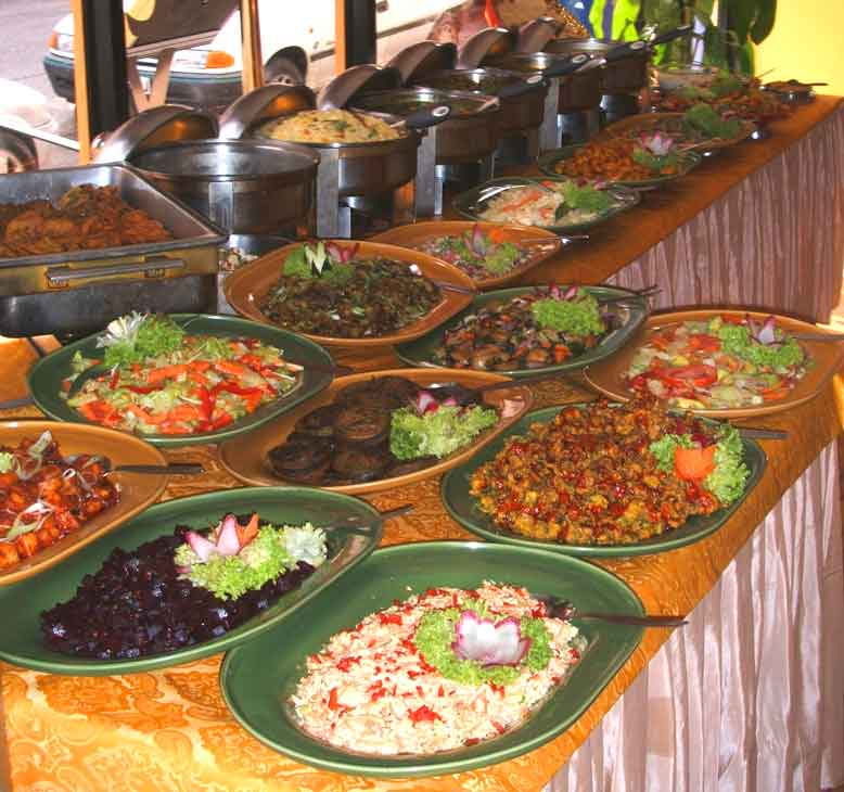 Chutney buffet