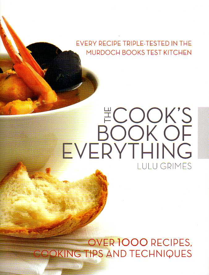 cookbook reviews The Cook's Book of Everything