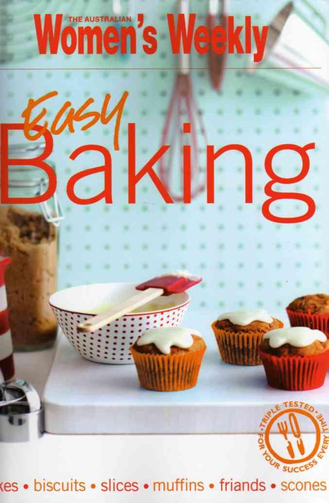 Easy Baking Cookbook review Australian Womens Weekly