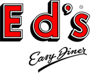 restaurant review Ed's Easy Diner logo