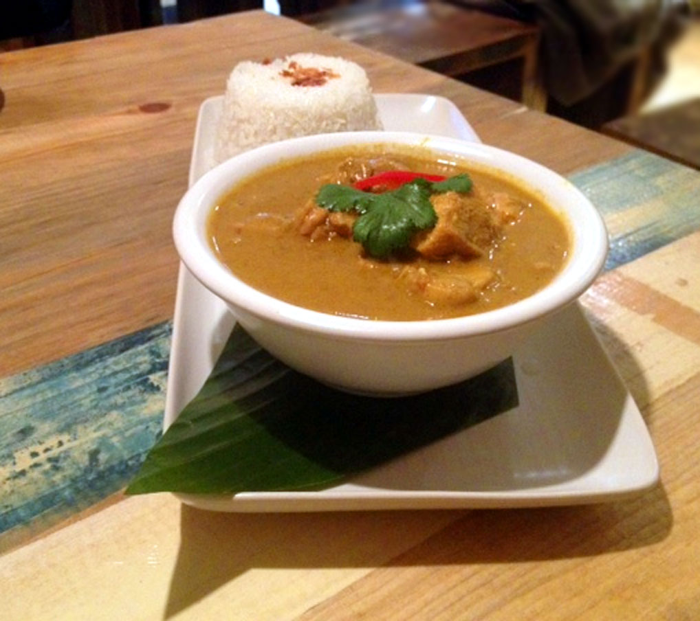 Ekachai asian restaurant review chicken Kapitan