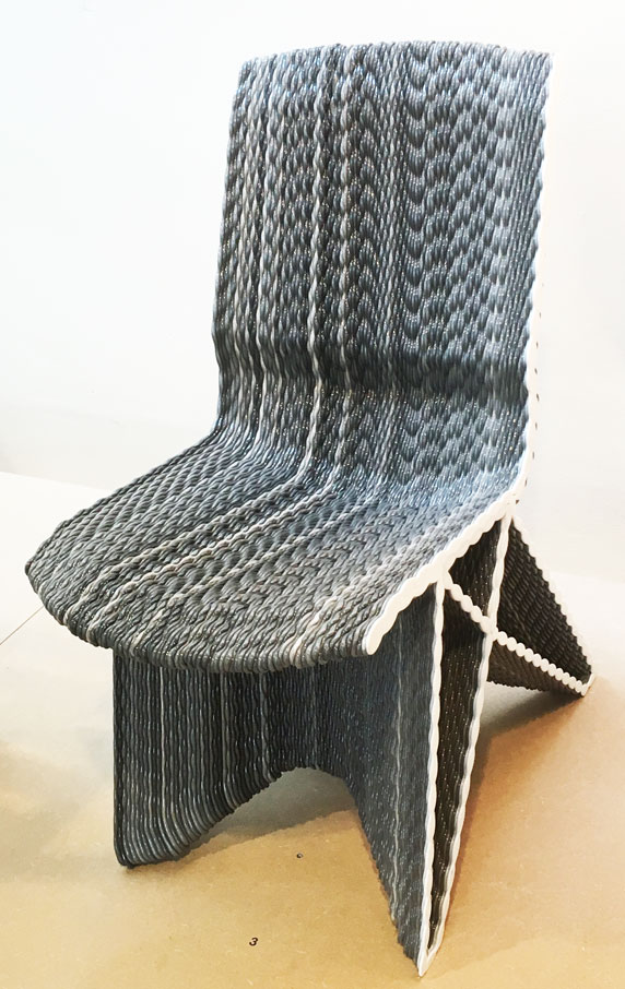 netherlands knitted chair