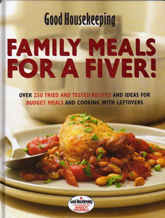 cookbook reviews Family Meals for a Fiver