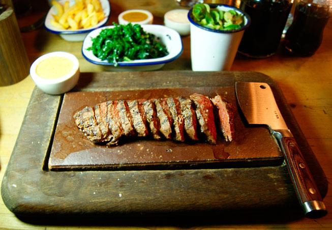 Flat Iron, Beak Street – restaurant review