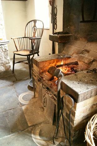 The Fleece Inn fire