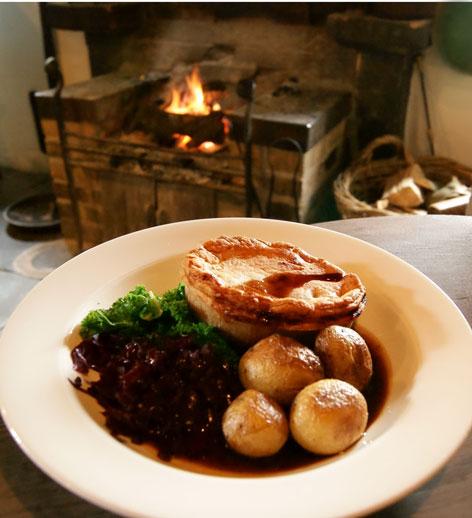 The Fleece Inn pie