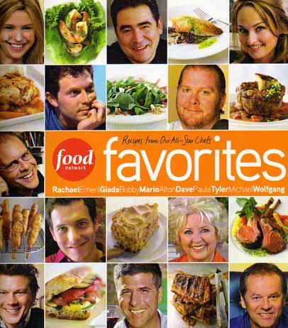 Food Network Favorites – cookbook review