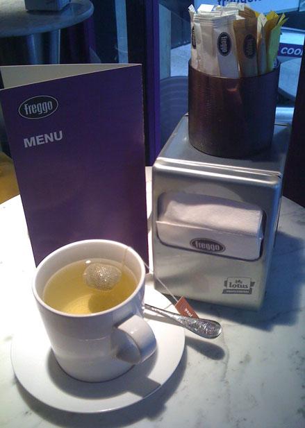restaurant review freggo tea