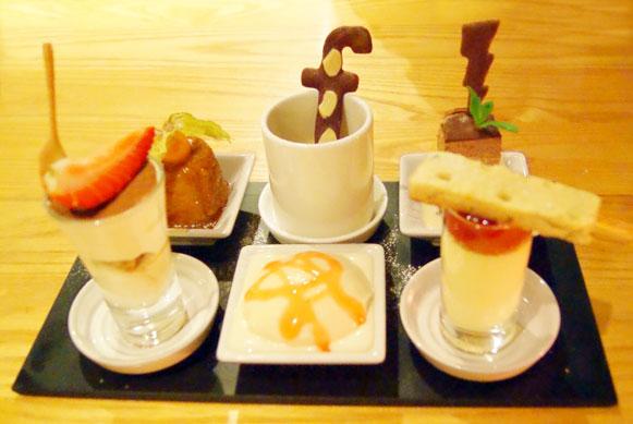 restaurant review Fusion Brasserie desserts
