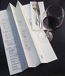 restaurant review gaucho menu