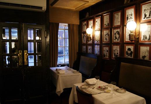 london restaurant review