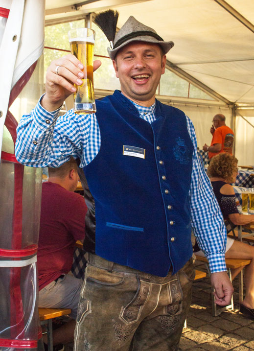 AmaWaterways beerfest