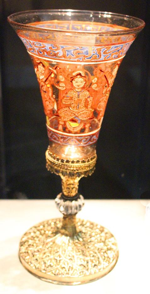 Waddesdon Bequest glass