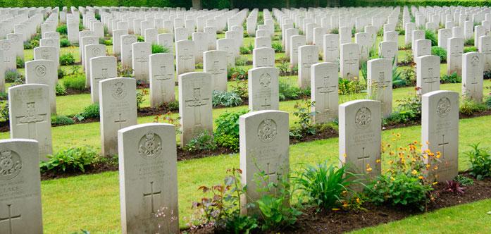 Dutch liberation graves