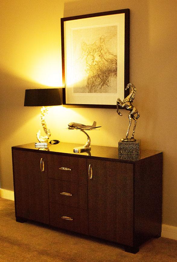 Brooklands Hotel bedroom