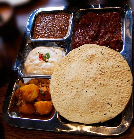 Imli street asian food thali