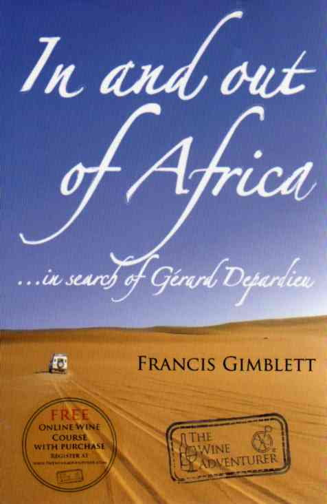 cookbook reviews In and Out of Africa in search of Gerard Depardieu