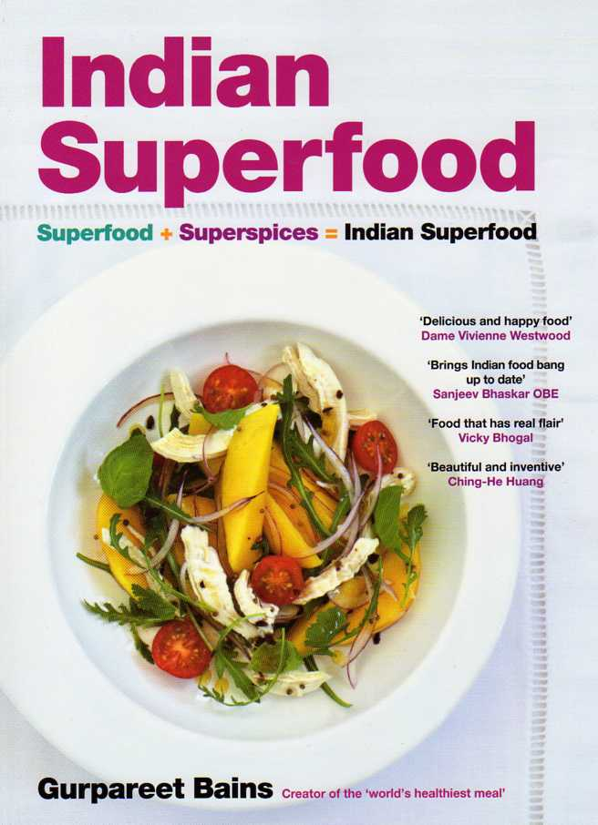 asian cookbook review Indian Superfood