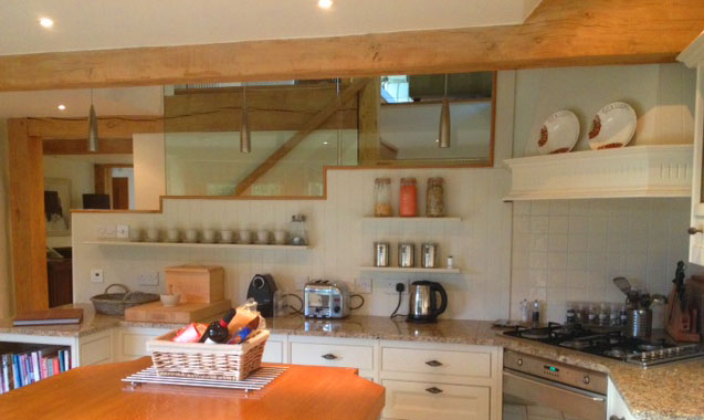 Ivy Roost Cottage kitchen