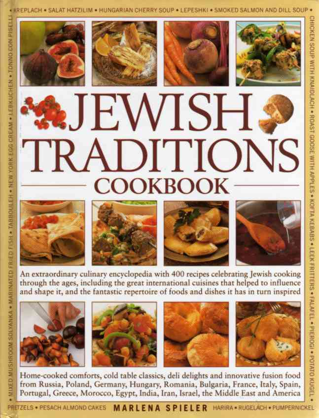 Jewish Traditions Cookbook by Marlena Spieler – review