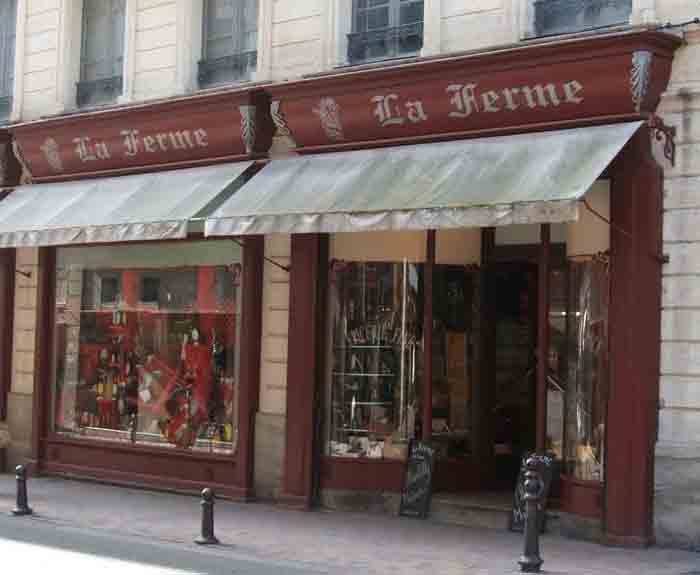La Ferme shop