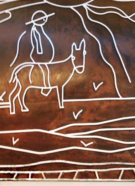 La Mancha donkey